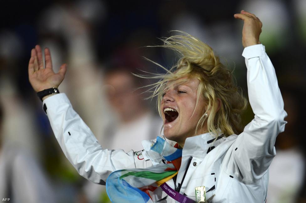 Philipine van Aanholt, egy független olimpikon.