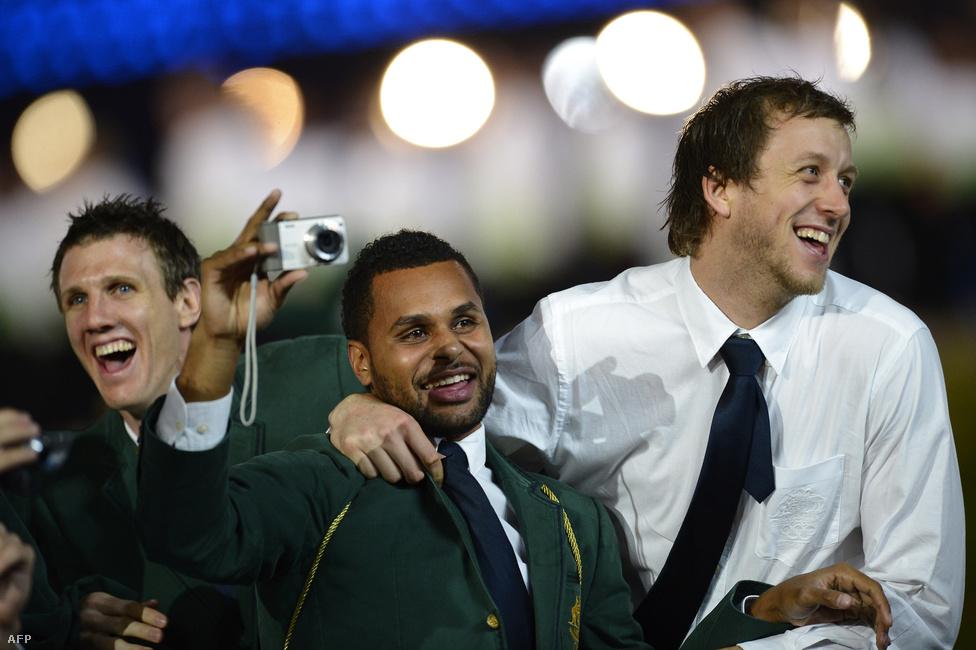 Az ausztrál csapat