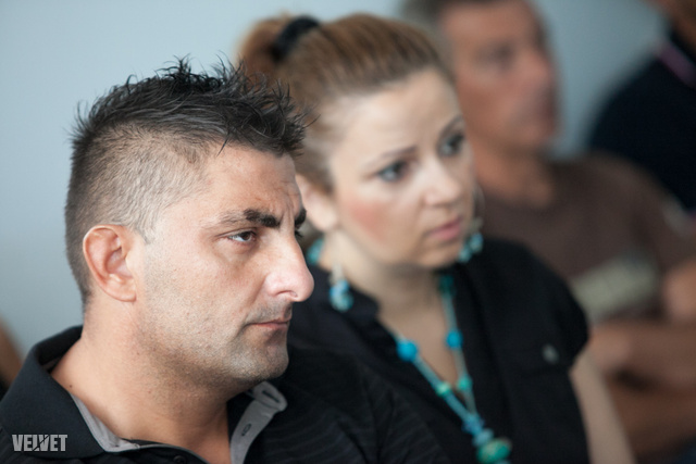 Gáspár Győző és Bea június 25-én a bíróságon