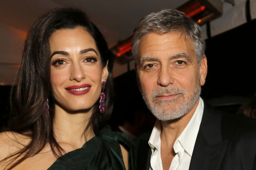 George és Amal Clooneyt szörnyű csapás érte - Így árasztotta el otthonukat a Dennis vihar