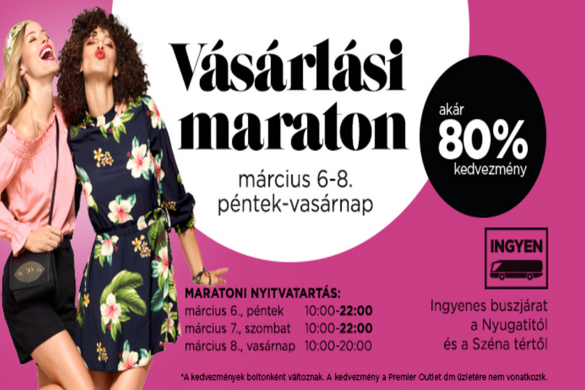 Tavaszindító Vásárlási Maraton! (x)