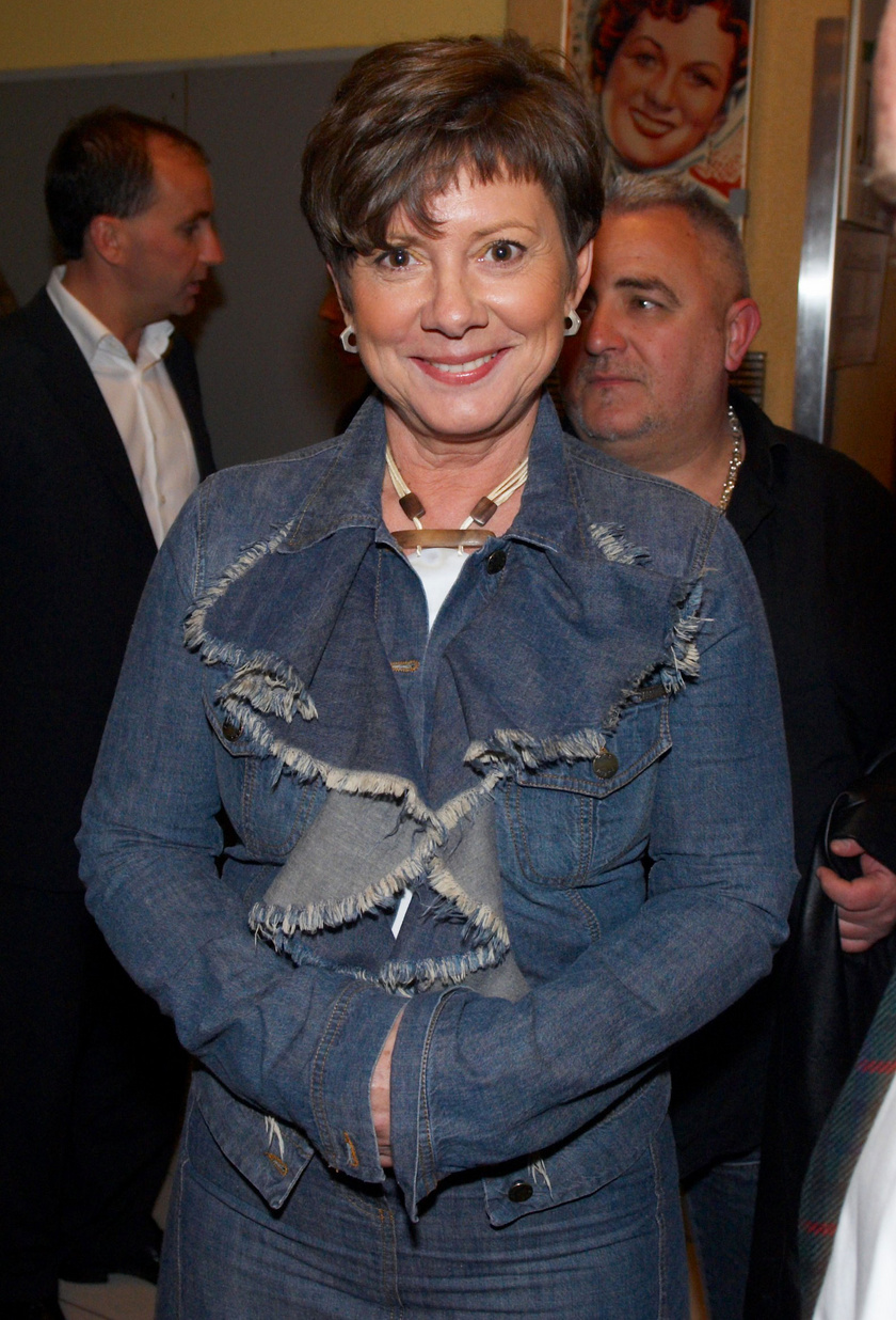 Katona Klári 2007 áprilisában az 56 csepp vér című film díszbemutatóján.