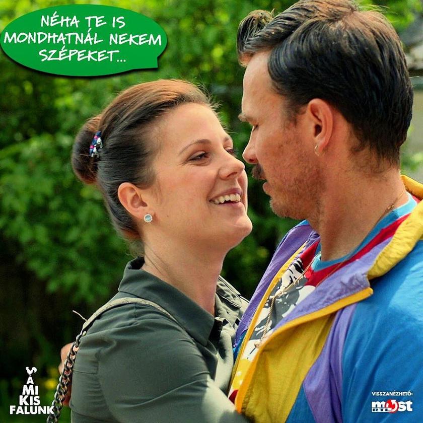 Az RTL Klub sorozatában játszott karaktere még csak álmodozik az esküvőről és a kisbabáról.