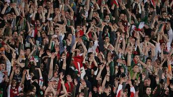 Percek alatt elfogyott 2500 jegy a bolgár-magyarra