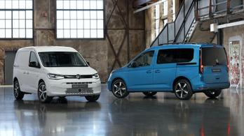 Leleplezték az új Volkswagen Caddyt