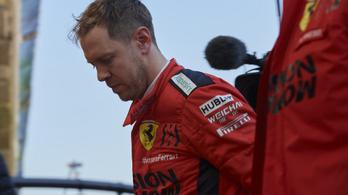 Megállt a Ferrari Vettel alatt, a csapatfőnök állítja, nem elég gyors az autó