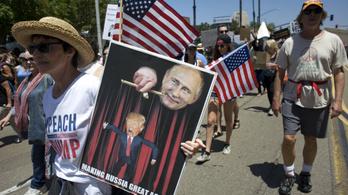 Kreml: paranoid állítás, hogy Moszkva beavatkozik az amerikai elnökválasztásba