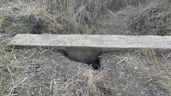 Újabb alagutat találtak Csikériánál