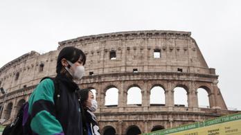 Olaszországban egy nap alatt 17 koronavírusos beteget regisztráltak