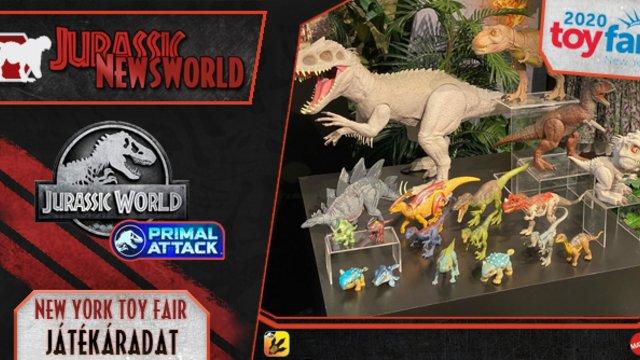 Jurassic Newsworld: New York Toy Fair - Játékáradat