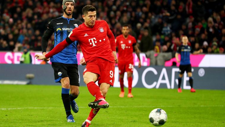 A Bayern München legyőzte a sereghajtót