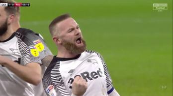 Panenkás góllal ünnepelte 500. angol bajnokiját Rooney