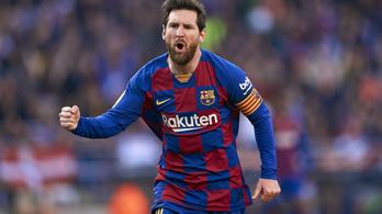Messi bolondot csinált a védőkből, 40 perc alatt lőtt mesterhármast