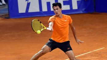 Balázs Attila óriási fordítás után elődöntős a riói tenisztornán
