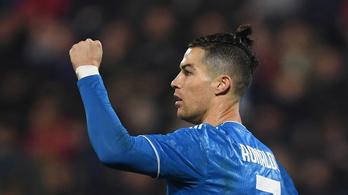 C. Ronaldo 1000 meccsig jutott, góllal ünnepelt