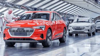 Leállt az Audi e-tron gyártása