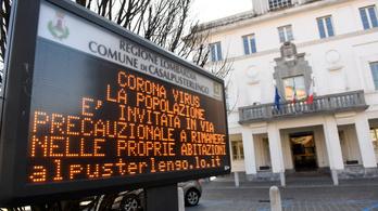 Olaszországban Milánó és Padova környékén lezártak településeket, se ki, se be nem lehet menni
