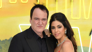 Quentin Tarantino 56 évesen apuka lett