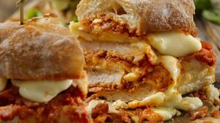 Kezdődhet a féktelen tömegelés: mogyoróvajas-csirkés melegszendvics