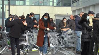 Már Milánóban is arra készülnek, hogy leállhat a város