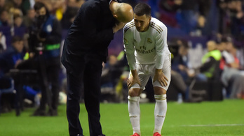 Eltört a Real Madrid sztárjának bokája