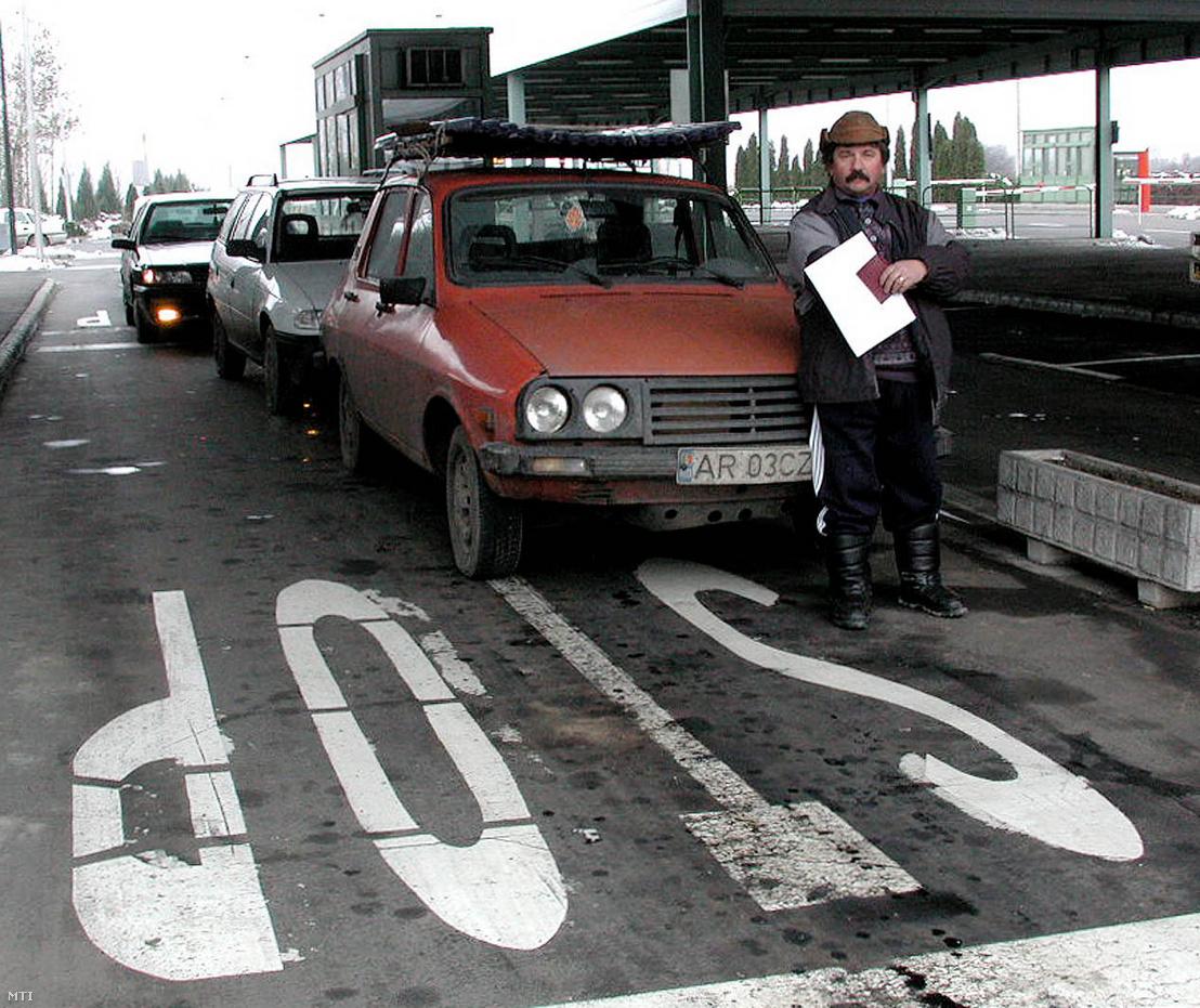 A román–magyar határ
