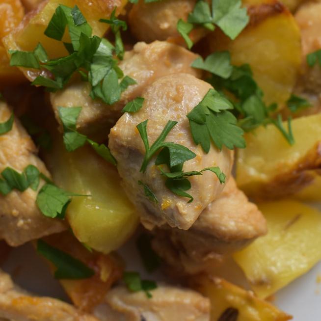 Brassói aprópecsenye csirkéből, egészséges változatban: diéta alatt is bátran eheted