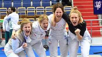 Tizenkét év után lesz újra magyar női tőrcsapat az olimpián