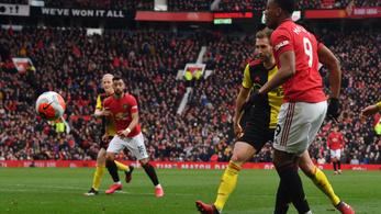 A ManUtd-csatár négy védőt ledermesztve lőtt gólt