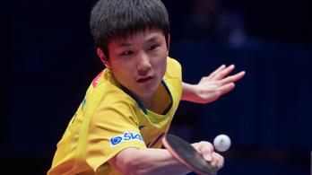 A japán csodagyerek a budapesti pingpongtornán is legyőzte a világot