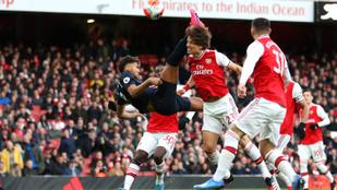 Az Arsenal 3-2-re nyert a villámgyors gólok meccsén