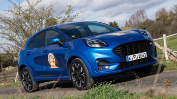 Menetpróba: Ford Puma, 2019. – Mortefontaine, Év Autója-tesztelés