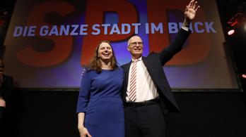 Exit poll: a szociáldemokraták kapták a legtöbb szavazatot Hamburgban, a szélsőjobb kiesett a tartományi parlamentből
