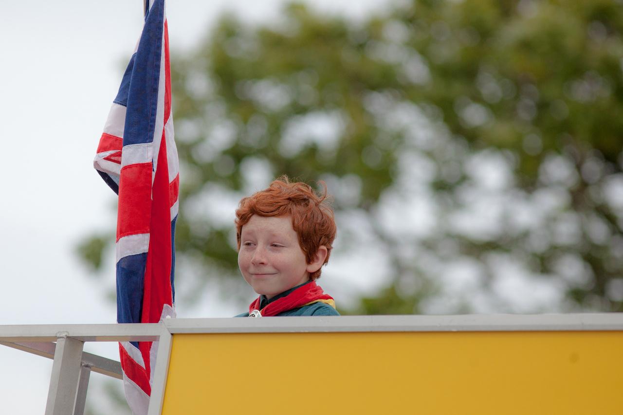 Annyira brit: a zászló, a gyermek, a cserkészet
