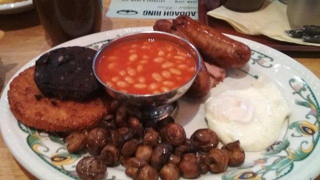 Igazi angol reggeli