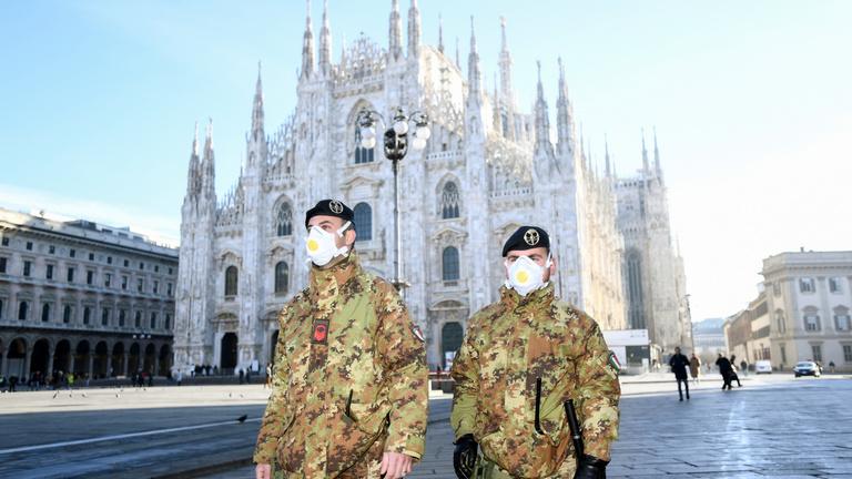 Észak-Olaszországban hatalmas a készültség