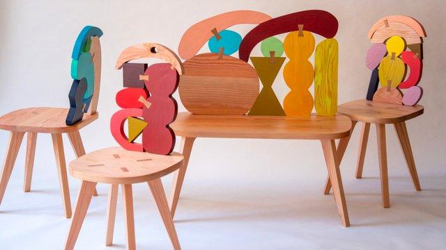 Különleges bútorok felnőtt gyerekeknek