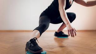 Szuperhatékony edzés otthon: Így használd a csúszókorongot