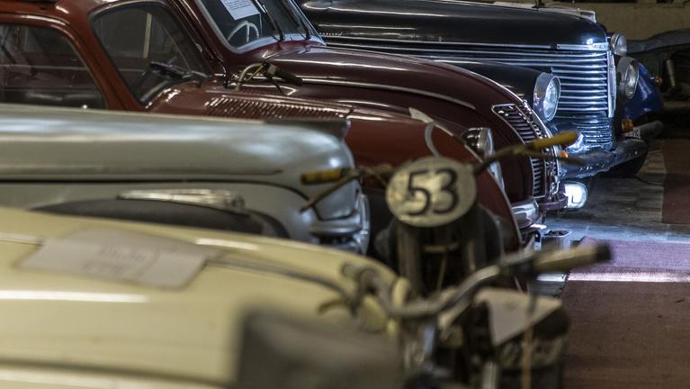 Tatabányán rejtőzik Erwin Rommel sivatagi Opelja