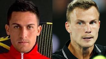 Néhány adat rámutat, miért nagy dolog két top 100-as férfi teniszező
