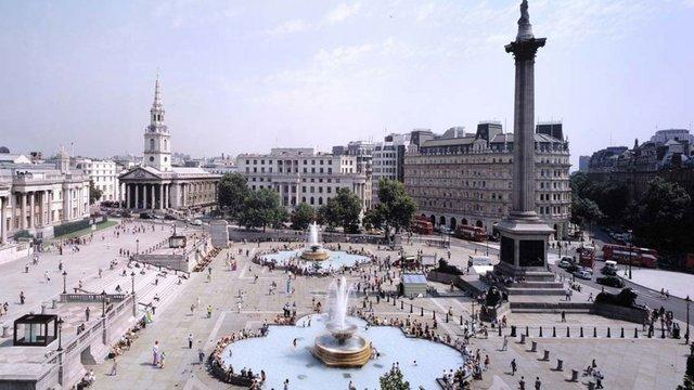 Miért van egy fekete bőrű tengerész a Trafalgar-emlékművön?