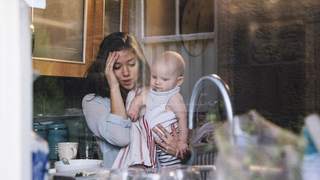 A szorongás az anyákat is érinti
