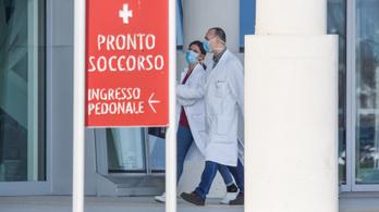 Nincs elég vizsgálati eszköz az olasz karantén egyik városában