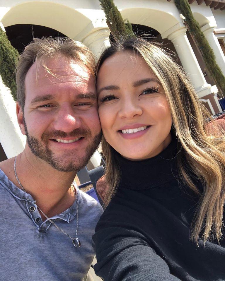 Nick Vujicic és felesége idén februárban már a nyolcadik házassági évfordulójukat ünnepelhették meg.