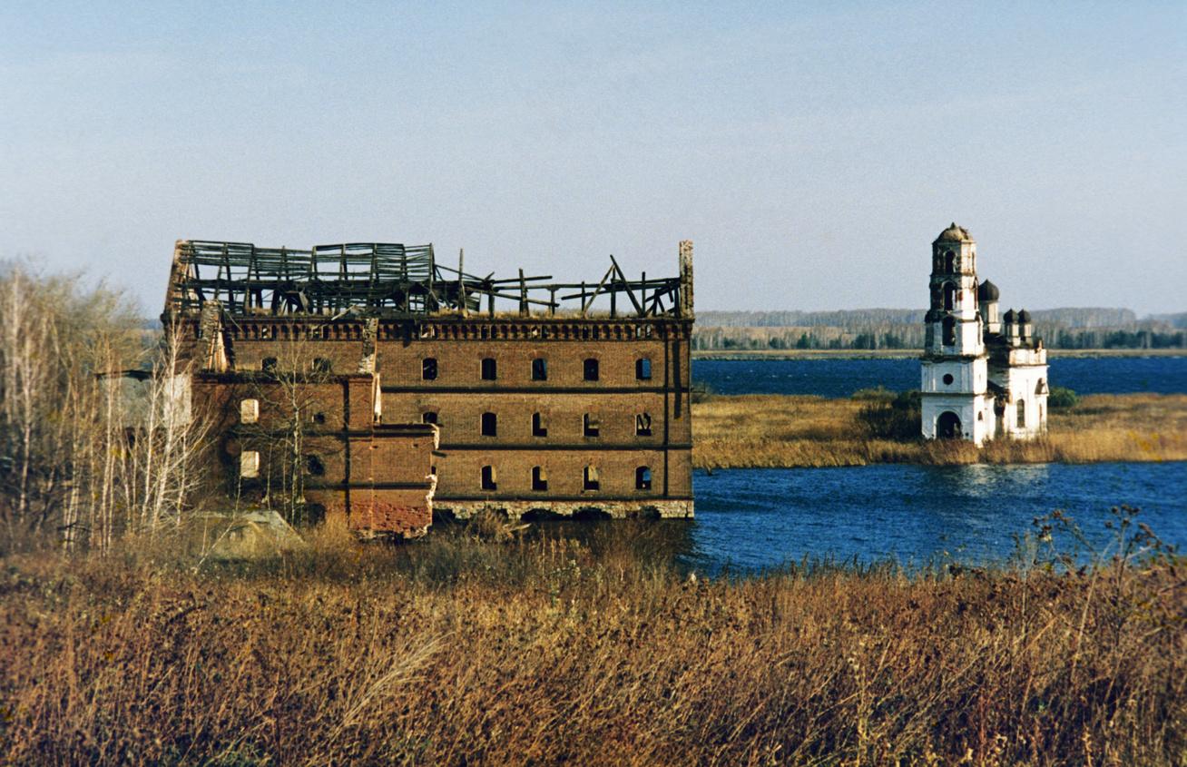 chelyabinsk 65 régió elhagyatott falu 2