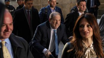 Bűnösnek találták Harvey Weinsteint