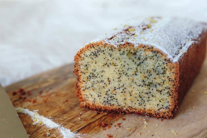 Narancsos-mákos süti: csak összekevered, és mehet a sütőbe