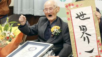 112 évesen meghalt a világ legidősebb férfijának tartott japán Vatanabe Csitecu