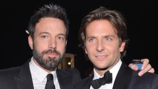 Bradley Cooper nemcsak Brad Pittnek, hanem Ben Afflecknek is segített kijózanodni