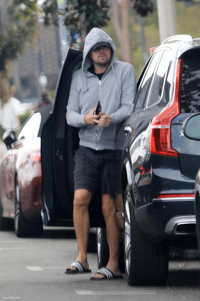 Nagy bevásárlásra indult Leonardo DiCaprio, és szerelme, Camila Morrone Los Angelesben
